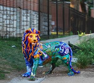 Street Lion